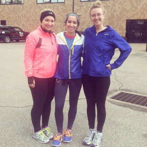 My lovely running friends :)