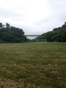 Jake played soccer here!